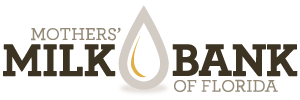 Mother's Milk Bank of Florida Logo without tagline